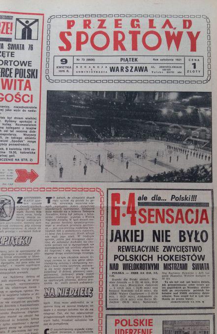 przeglad_sportowy_legendarny_mecz_Polska_Zwiazek_Radziecki